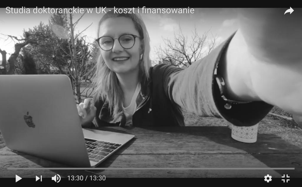 Video: Studia doktoranckie w UK cz. 1 – koszt i finansowanie